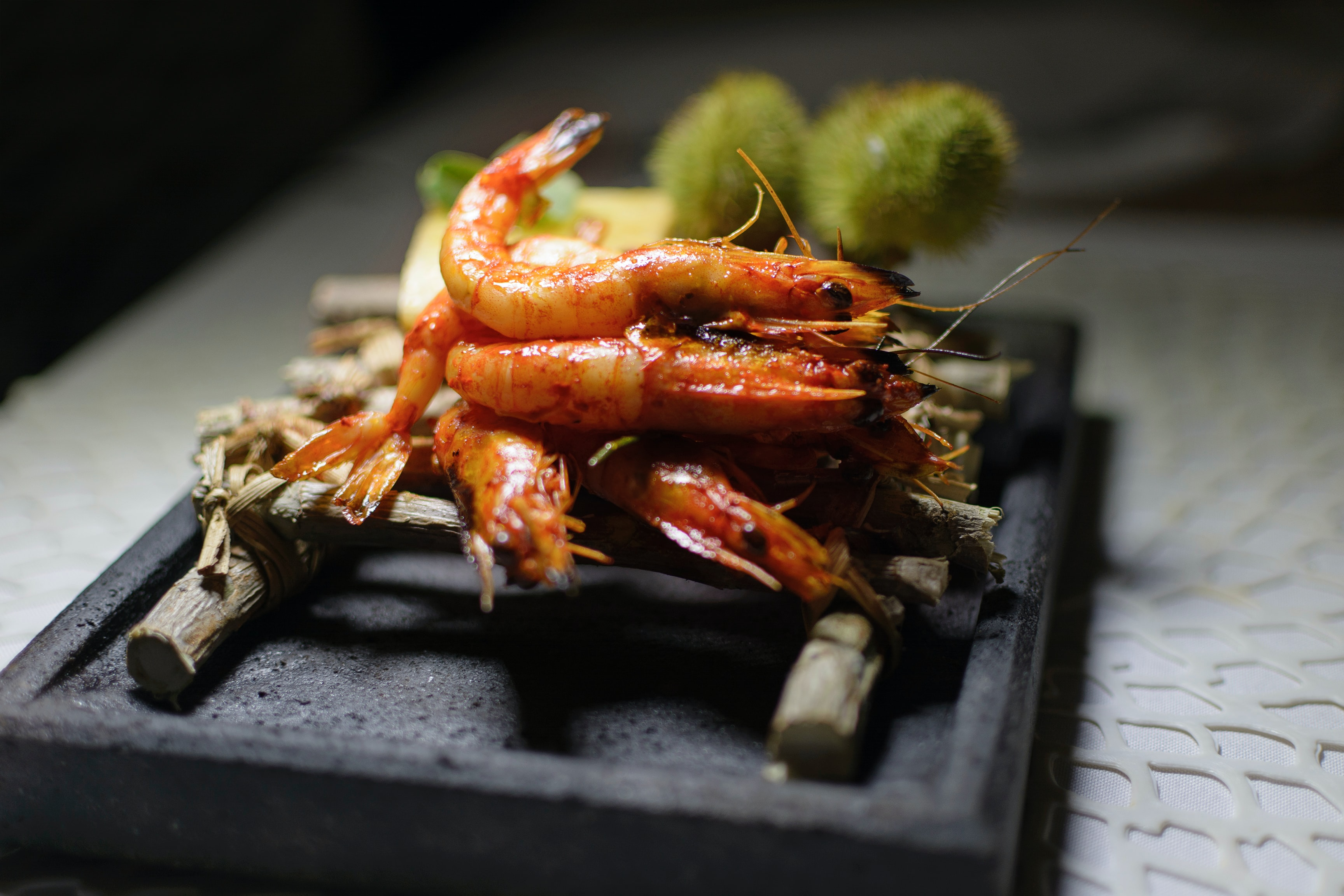 Portuguese prawns