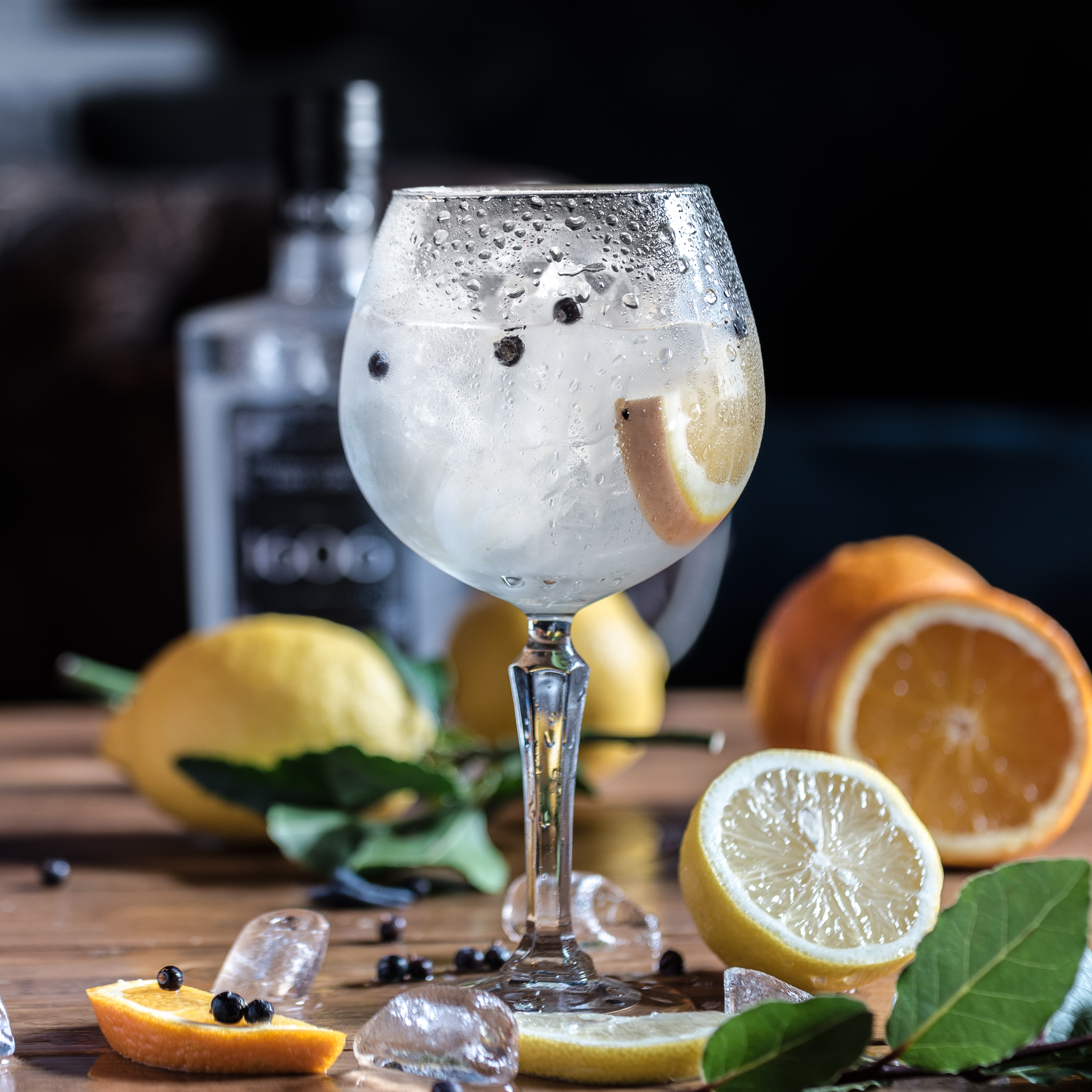 ice cold gin mix